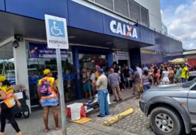 Clientes ignoram recomendação e lotam agência da Caixa Econômica em João Pessoa