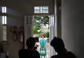 Hotel Globo é cenário para gravação de filme sobre Anayde Beiriz