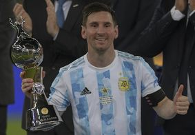 O jogo entre Argentina e Brasil teve apenas um público de 7.000 convidados