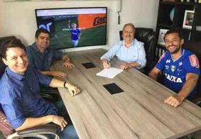 Fred acerta com Cruzeiro e é o mais novo camisa 9 do time mineiro