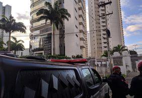 Equipes do Gaeco recebem apoio da Polícia Militar