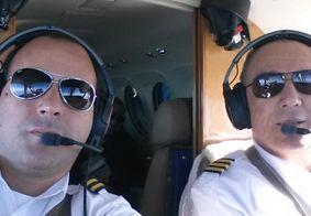 Pânico no ar: piloto morre durante voo e copiloto faz pouso de emergência no MS