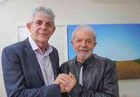 """""""Tenho certeza que ele é inocente"""", diz Lula em defesa de Ricardo Coutinho; veja o vídeo"""