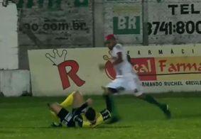 Vídeo | Jogador preso por agredir árbitro recebe liberdade provisória