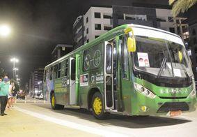 Testagem realizada nos ônibus em João Pessoa