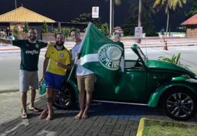 Fuscão do Verdão: irmãos de João Pessoa adaptam veículo e fazem sucesso na web