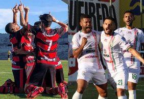 Campinense e Sousa protagozinam a primeira partida na final do Paraibano