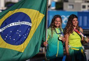 Brasileiras venceram a classe 49er FX da vela