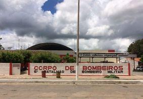 Corpo de Bombeiros de Cajazeiras, no Sertão da Paraíba