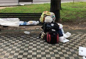 Campanha arrecada cobertores e roupas de frio para pessoas em situação de rua de JP