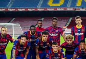 Barcelona vence e conquista o troféu Joan Gamper