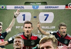 7 a 1: Após 4 anos, internautas relembram o fiasco brasileiro na Copa de 2014
