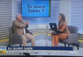 Comentarista da Globo na PB faz desabafo e pede demissão ao vivo; veja