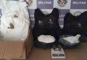 Polícia Militar desativa refinaria de cocaína que funcionava em uma casa alugada em João Pessoa