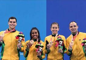 Brasil conquista décima medalha da natação na Paralimpíada de Tóquio