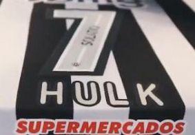 Novo número de camisa de Hulk