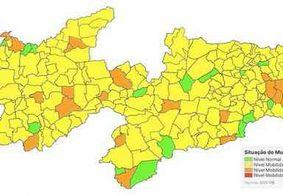 Maioria dos municípios da PB tem classificação amarela em plano de flexibilização