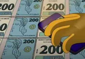 Episódio de 'Os Simpsons' prevê nota de R$ 200
