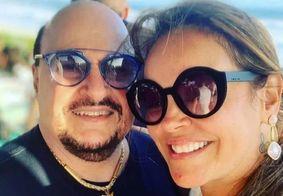 Elaine Bastos, viúva do cantorPaulinho Santos, nega gravidez