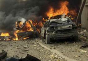 Explosão de carro-bomba mata 6 pessoas e deixa 35 feridas