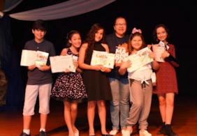 Projeto estimula a leitura de alunos e já publicou nove livros em 10 anos
