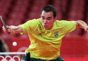 Calderano obteve o melhor desempenho do país na modalidade em Jogos Olímpicos