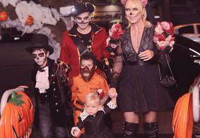 """Eliana é atacada na web por fazer festa do filho com o tema """"Dia dos Mortos"""""""