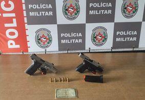 PM prende homem e apreende duas armas de fogo em João Pessoa