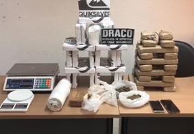 Polícia Civil apreende 28 kg de cocaína pura e 17 kg de maconha, na Zona Sul de João Pessoa