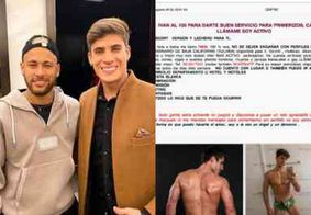 Namorado da mãe de Neymar é flagrado em site de prostituição da Espanha