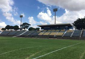 Estádio Serejão, local da partida
