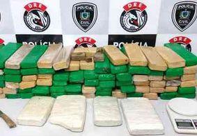 Mais de 100 kg de drogas são apreendidas durante operação em Campina Grande