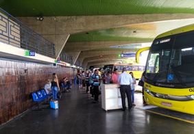 Ônibus intermunicipais da PB param e no fim de semana e retornam segunda com frota reduzida