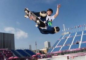 Pedro Quintas foi o primeiro brasileiro a competir no skate park