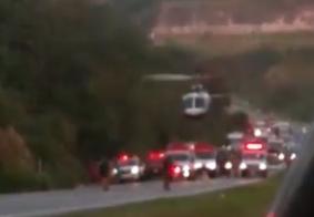 Helicóptero resgata vítima de atropelamento na Grande João Pessoa