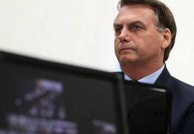 'Só Deus me tira da cadeira presidencial', diz Bolsonaro