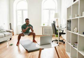 E-book traz série de exercícios físicos para fazer em casa