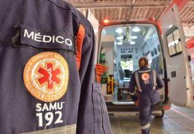 Vítima foi socorrida ao Hospital de Emergência e Trauma