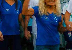 Dois dias após rebaixamento do Cruzeiro, torcedora símbolo morre aos 86 anos em BH