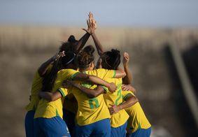 De goleada, Brasil vence Argentina no segundo amistoso na PB