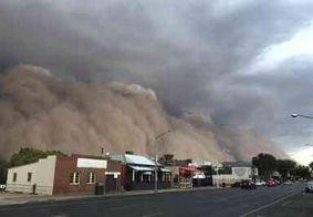 Tempestades de poeira atingem o Sudeste da Austrália