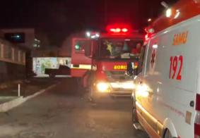 Mulher é socorrida após tentar atear fogo na própria casa em João Pessoa