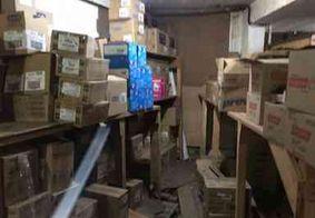 Órgãos interditam estoque de supermercado na PB por péssimas condições sanitárias